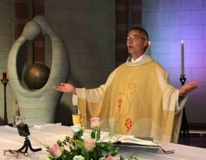 willkommen flyer katholische kirche